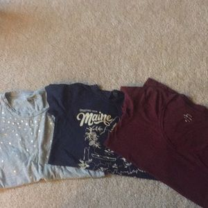 Lot of 3 J. Crew XS T Shirts
